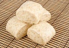 中国全麦蒸的小圆面包#1 免版税库存图片