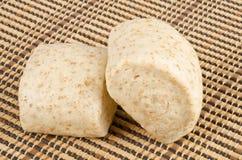 中国全麦蒸的小圆面包#2 库存图片