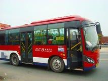 中国公共汽车 库存图片