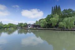 中国公园 库存照片