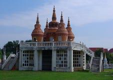 中国公墓在Kanchanabury 库存图片