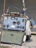 中国军事收音机 免版税库存图片