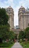 中国农业银行大厦,广州,中国 库存照片