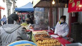 中国农贸市场 免版税图库摄影