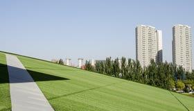 中国几何在呼和浩特市 库存照片