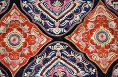 中国刺绣 图库摄影