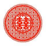 中国剪切纸张 免版税图库摄影