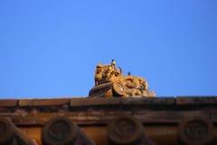 中国北京故宫博物院大厦 免版税库存图片