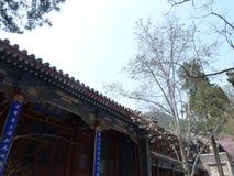 中国北京潭柘寺 免版税库存照片