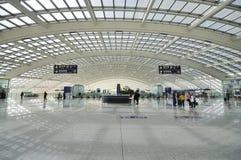 中国北京资本机场 免版税库存图片
