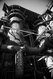 中国北京首钢队钢铁制品工厂 库存照片