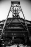 中国北京首钢队钢铁制品工厂 免版税库存照片