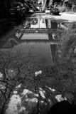 中国北京首钢队钢铁制品工厂 免版税图库摄影
