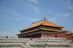 中国北京紫禁城历史站点 免版税库存图片