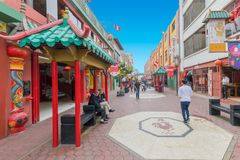 中国区利马秘鲁 免版税图库摄影
