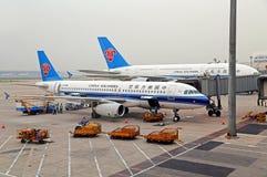中国南方航空公司 免版税库存图片