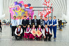 中国南方航空股份有限公司成员 免版税库存图片