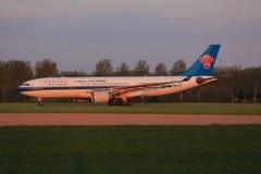 中国南部的航空公司 库存照片
