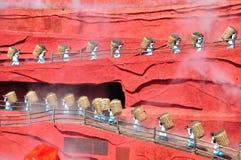 中国印度Lijiang 免版税库存图片