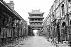 中国历史城镇 库存照片