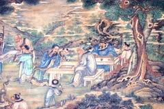 中国古典绘画 免版税库存图片