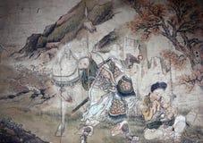 中国古典绘画 免版税图库摄影