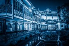 中国古典建筑,有历史 库存照片