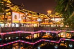 中国古典建筑,有历史 免版税图库摄影