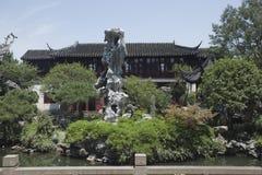 中国古典建筑 免版税库存照片