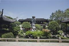 中国古典建筑 免版税库存图片