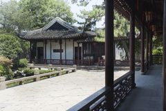 中国古典建筑 库存照片