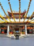 中国古庙 免版税库存照片