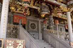 中国古庙 免版税库存图片