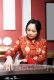 中国古筝 免版税库存照片