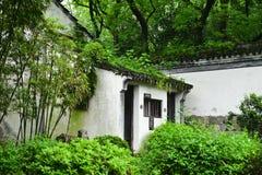 中国古老传统豪华住所 免版税库存图片