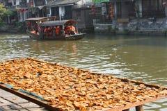 中国古老城镇 免版税库存图片