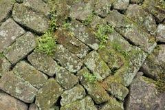 中国古老墙壁 免版税库存图片