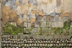 中国古老墙壁 库存照片