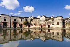 中国古老大厦 免版税库存照片