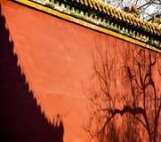 中国古老建筑学寺庙 库存图片