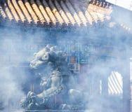 中国古老建筑学寺庙 库存照片
