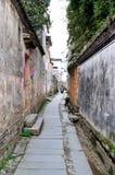 中国古老村庄-平山村庄 免版税库存照片