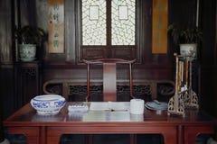 中国古老研究 免版税图库摄影
