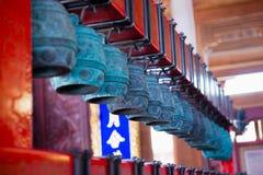 中国古老编钟 免版税库存图片