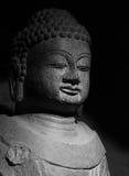 中国古老菩萨雕象 库存照片