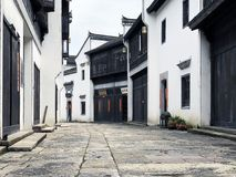 中国古老街道 库存图片