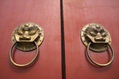 中国古老装饰材料 免版税库存图片
