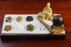 中国古老香料 库存图片