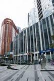 中国和亚洲,北京,三里屯苏荷区,现代大厦,商业区 库存照片