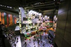 中国商展2010年上海城市居民亭子 图库摄影